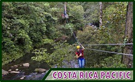 Costa Rica canopy tours and excursions near Jaco Beach