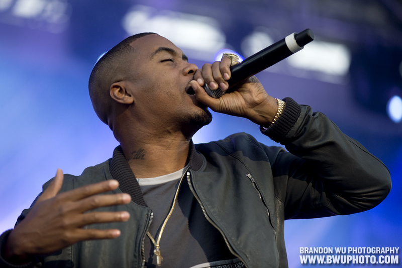 Nas @ Virgin Mobile FreeFest 2012