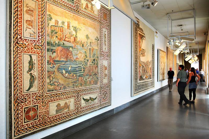Mosaic hall