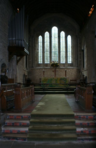 Chancel at Bosham Church, England