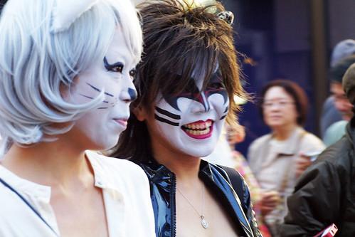 Kagurazaka Cat Halloween 2012-13