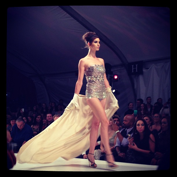 Beautiful by @AnthonyFranco at #losangelesfashionweek at @GowerStudios #lafw with @theLAFashion