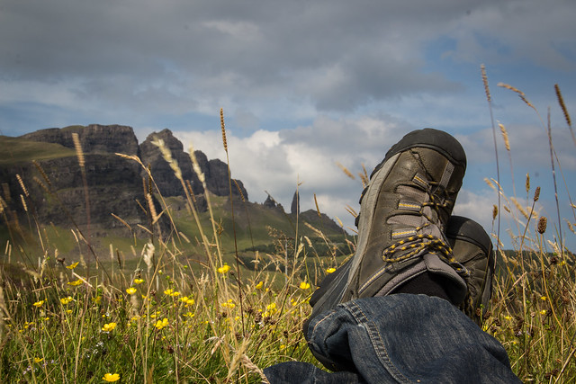 Traveling Boots - Isle of Skye - Scotland