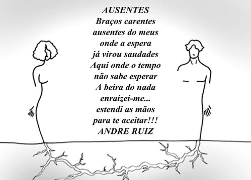 AUSENTES by amigos do poeta