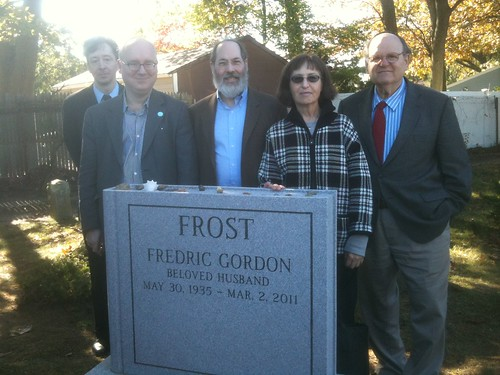 Group and F. Gordon Frost Monument