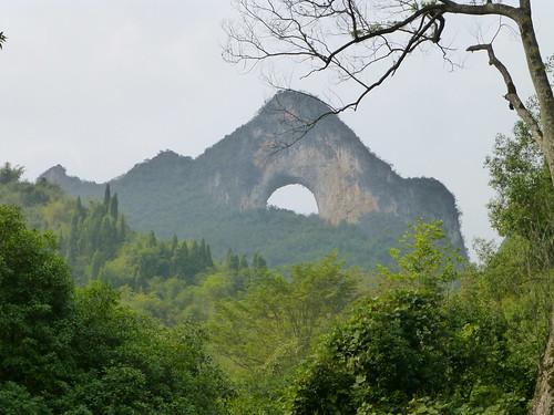Moon Hill, Yangshuo, China