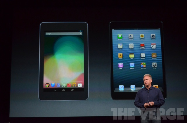 Apple Bandingkan IPad Mini Dengan Tablet Plastik Android Image