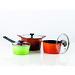 Eco Kitchen serien nu med färgglad kastrull och grytor