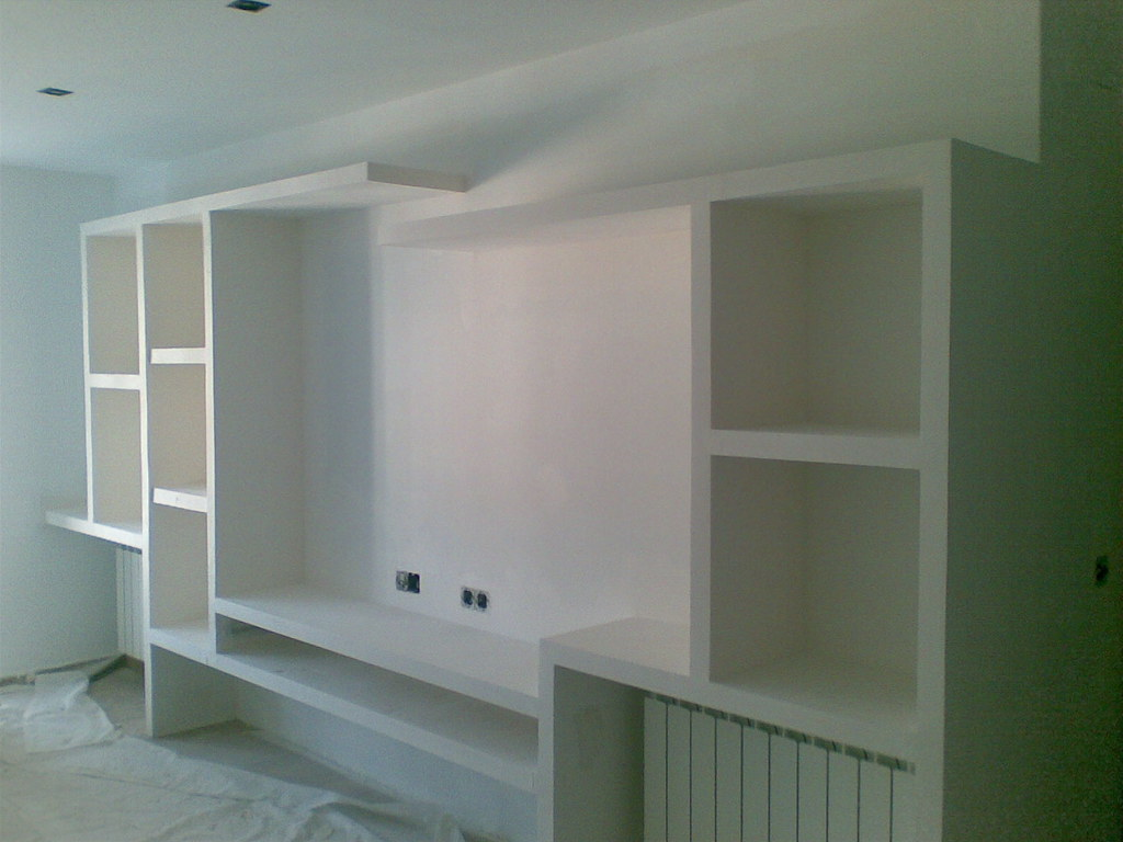 Muebles de escayola o pladur verdemar roquetas for Muebles de pladur para salon fotos