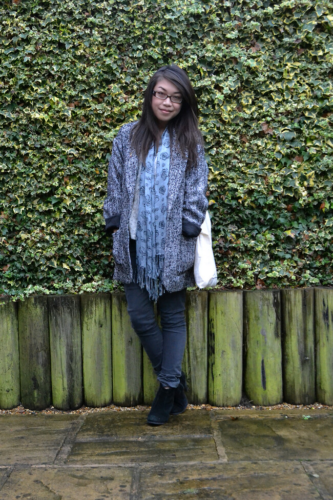 daisybutter - UK Style and Fashion Blog: what i wore, ootd, AW12, glamorous, adriano goldschmied legging jeans