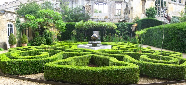 Knot Garden, Sudeley Castle