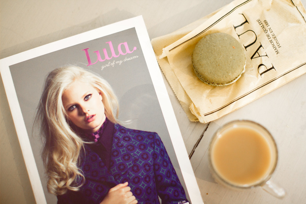 Lula magazine and breakfast