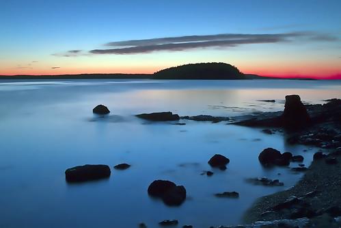 sunrise newengland barharbormaine frenchmansbay 2470mmf28l longexposurebulb