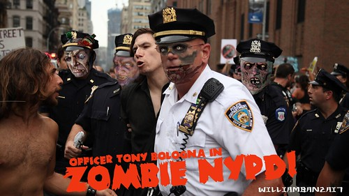 ZOMBIE NYPD by Colonel Flick