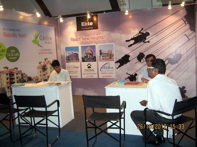 Elite Landmarks (www.elitelandmarks.com) - Exhibition of Properties in Hinjewadi, Wakad, Baner, Balewadi & Bavdhan! - PROFEST WEST 2012 by CREDAI Pune Metro on 26 - 27 - 28 October 2012 at VITS Hotel, Balewadi, Pune