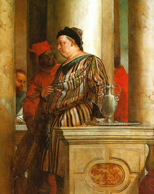 Venedig, Accademia, Gastmahl im Hause Levi von Paolo ...