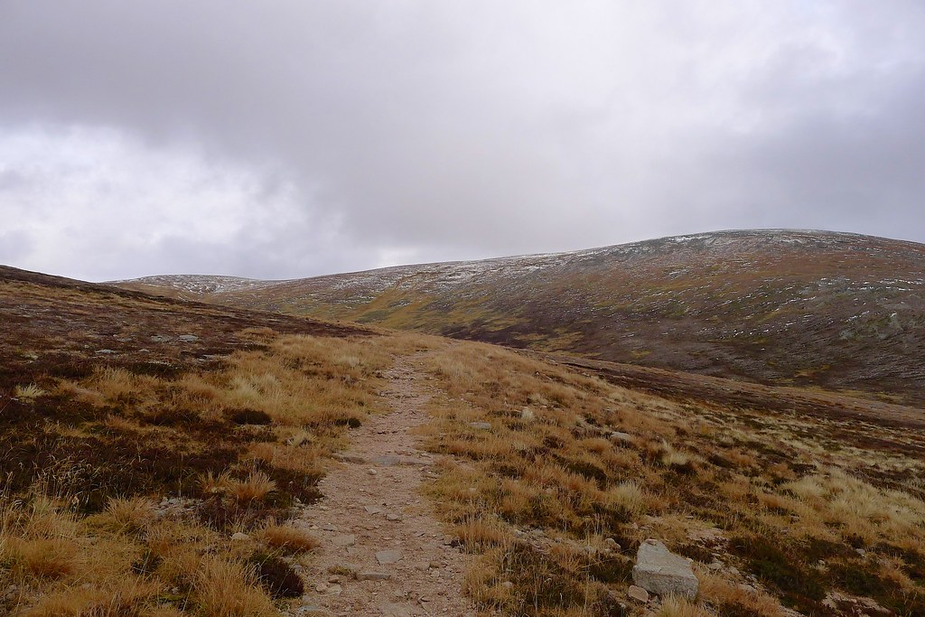 The track to Beinn a' Bhuird