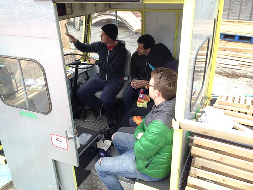 Presentation in a Milk Float
