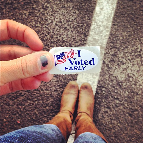 This also happened today. #vote #voteearlyvoteoften #weekend