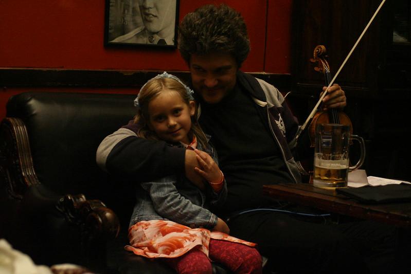 Bojan and his daughter.
