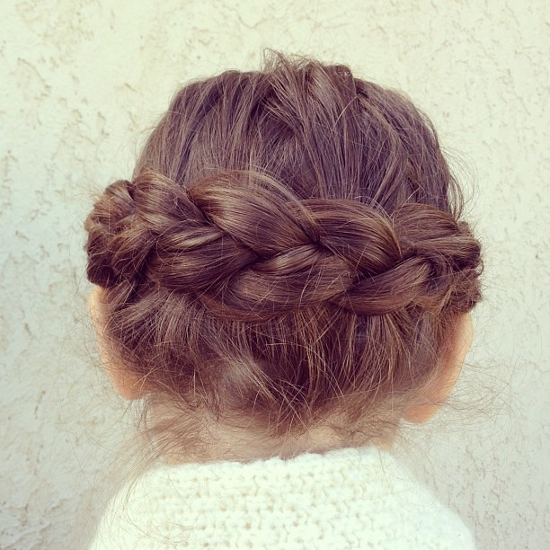 braid crown