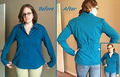 Cinched Top Before & After