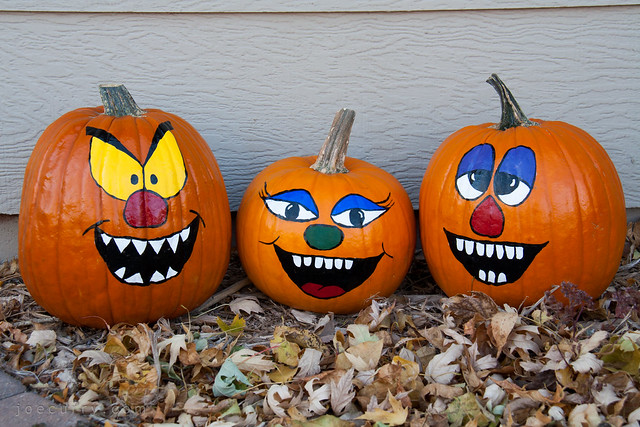 Pumpkin painting middle c joe curry Funny pumpkin painting ideas