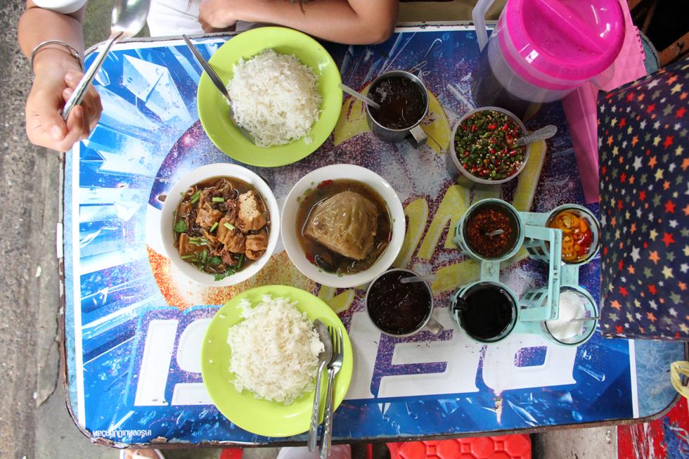 Vegetarian Thai Food in Yaowarat