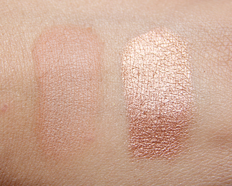 Yves Rocher Hàle léger bronzer and shimmer powder duo swatch