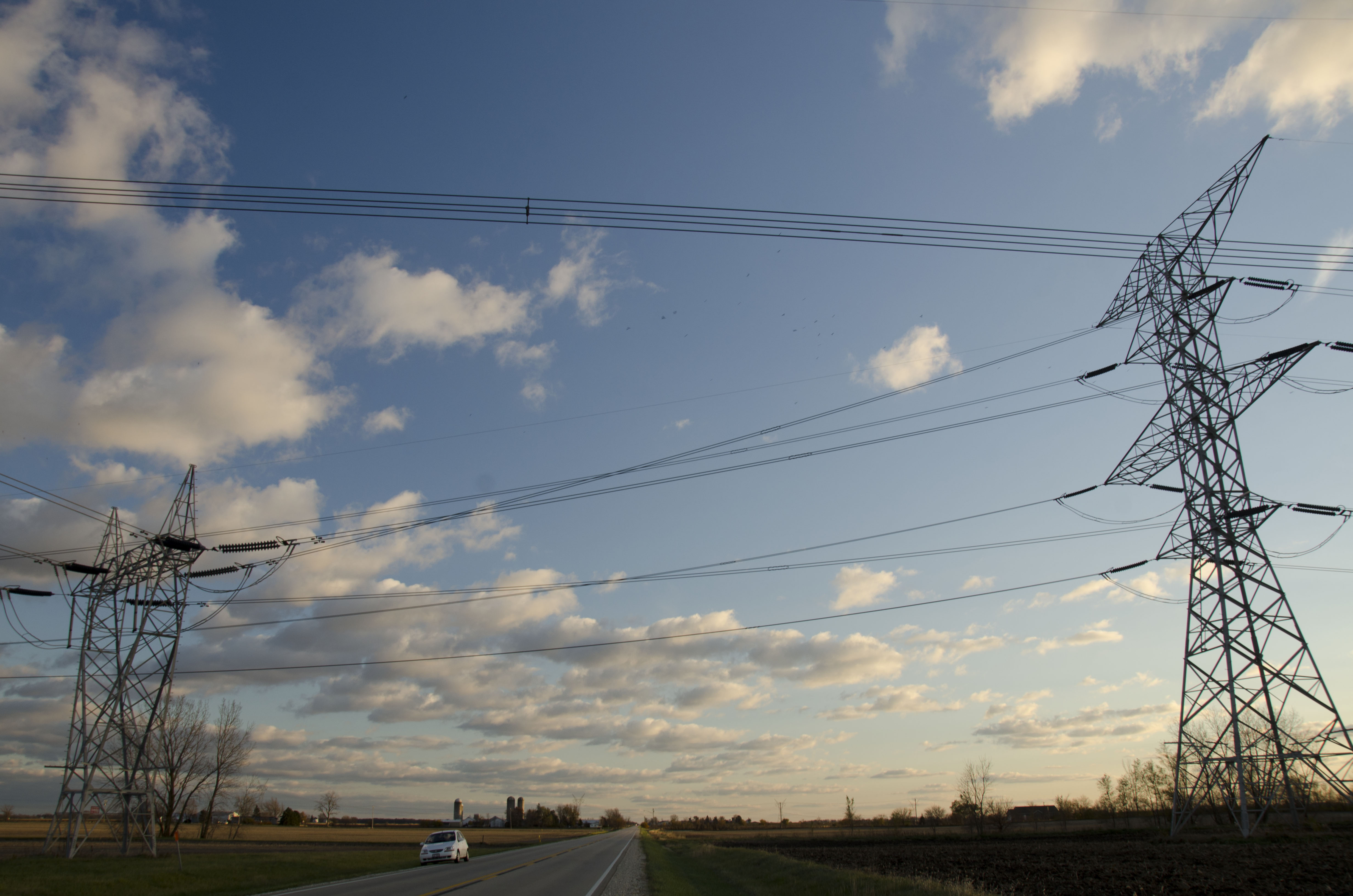 Overhead Power Line : Elevation of new lenox township il usa maplogs