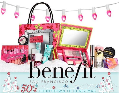 Benefit 50% off sale