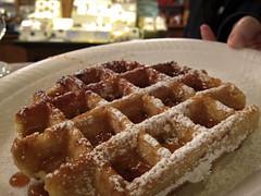 meal, breakfast, baking, belgian waffle, food, dish, dessert, cuisine, waffle,
