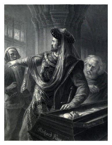 017-Ricardo II-Shakespeare scenes and characters…1876