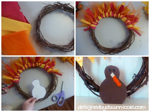Turkey Rag Wreath