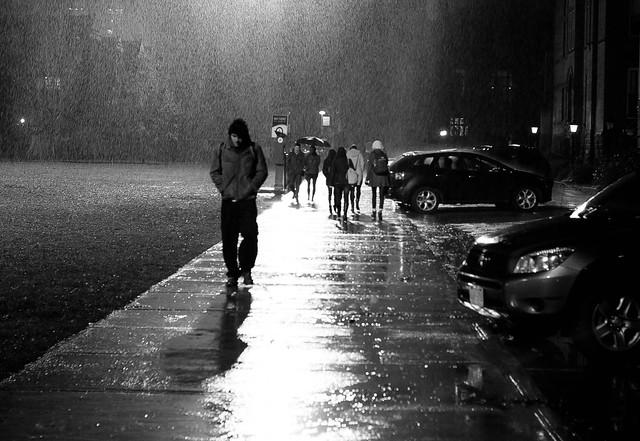 Stormy days, Toronto