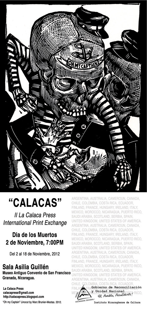 II CALACAS flyer nica