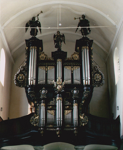 Sarre-Union, Alsace, Église Saint-Georges, organ