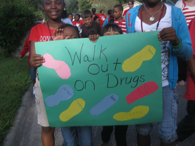Biscayne elementary say no to drugs3 flickr photo sharing for Biscayne gardens elementary school