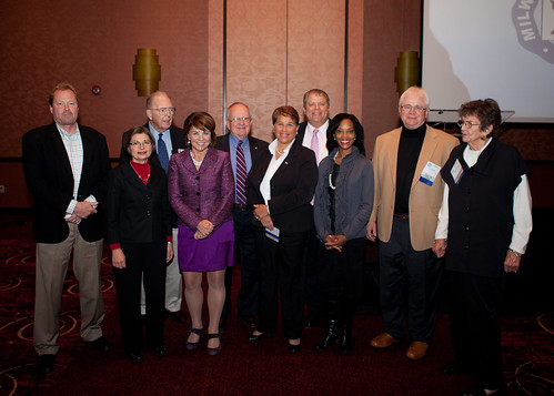 Past Presidents at the Hall of Fame event on Friday, Oct. 26, 2012.
