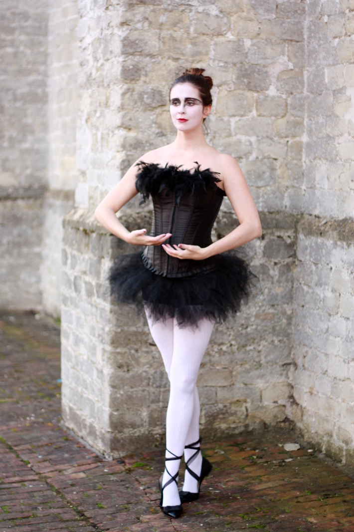 halloween 2012 black swan costume the styling dutchman