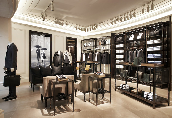 Fashion Frankly Burberry Opens Its First Menswear Store