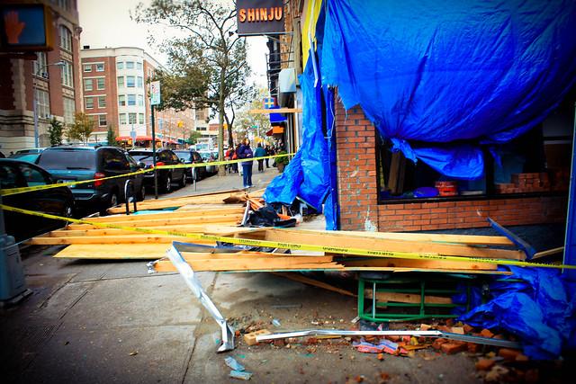 Hurricane Sandy Aftermath Brooklyn, New York