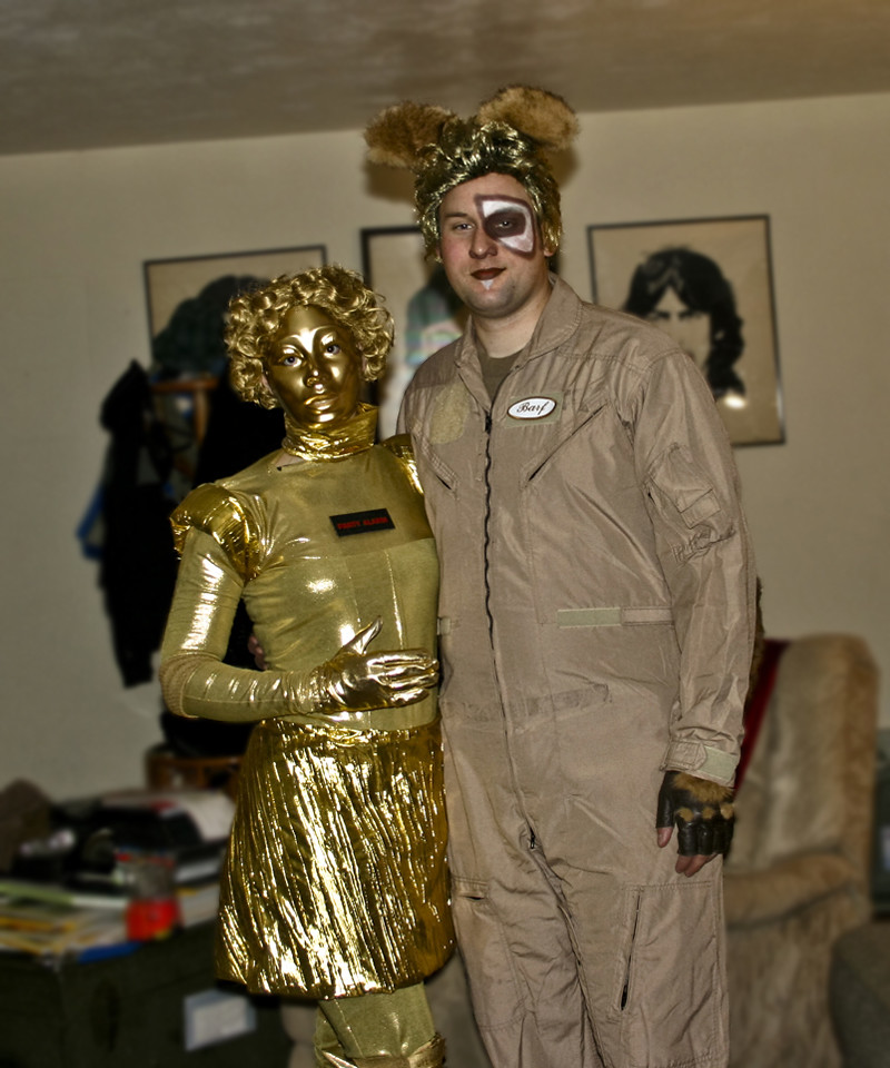 Spaceballs Halloween Costumes Custom Dot Matrix Barf Cos Flickr