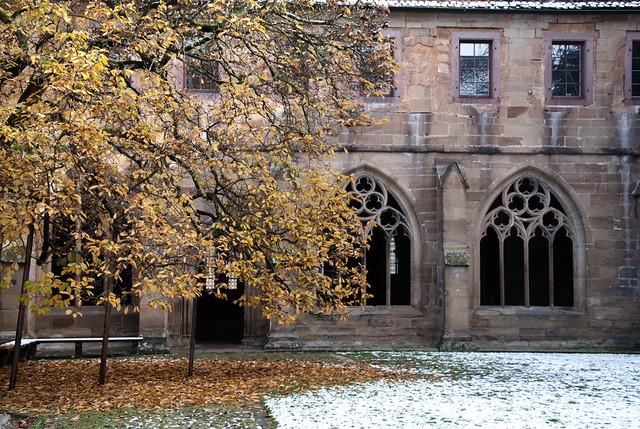 Innenhof des Klosters Maulbronn
