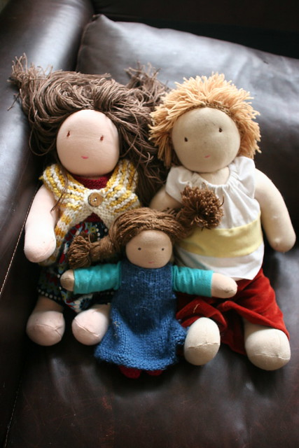 Waldorf Dolls as made by me