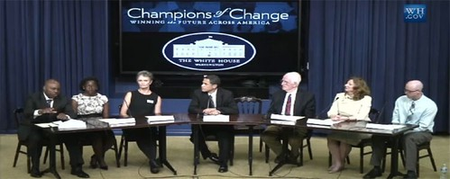 Phil Washington at White House Champions of Change Event