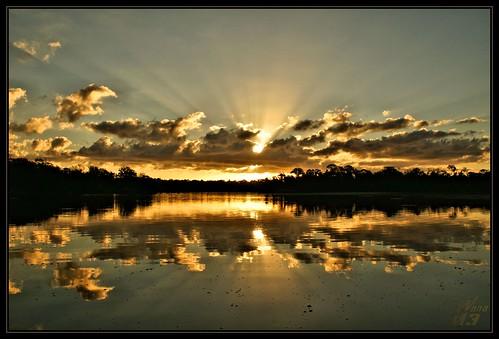 reflection nature water clouds sunrise texas bayou rays pasadena canoeing paddling armandbayou sonya700 wanam3