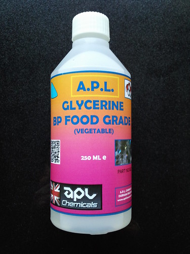 Glycerin in food products