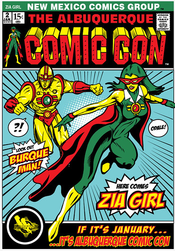 ABQ Comic con Cover 2 by 1SHTAR
