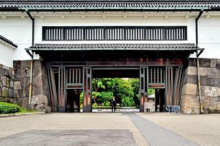 Kuva Site of Edo Castle. japan tokyo 東京 imperialpalace edocastle 皇居 historicsites syogun 史跡 江戸城 皇居東御苑 江戸城史跡 historicedocastle